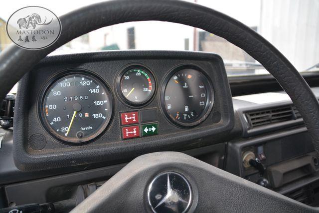 1988 Mercedes  Benz G-wagon 240GD Diesel G-Class CABRIO Birmingham, AL 35