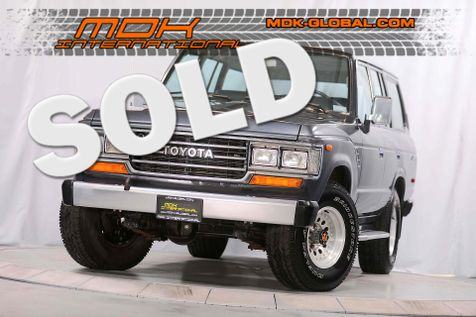 1988 Toyota Land Cruiser - FJ62 - A/C - 1 OWNER - CA CAR in Los Angeles