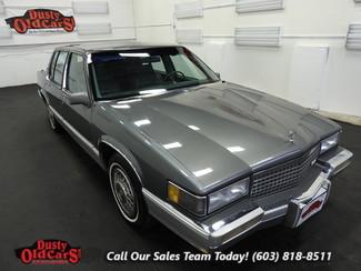 1989 Cadillac Deville Runs Drives Body Inter VGood 4.5LV8 4 spd auto in Nashua NH