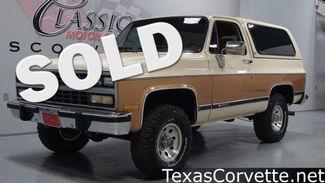 1989 Chevrolet K5 Blazer 4x4 | Lubbock, Texas | Classic Motor Cars in Lubbock, TX Texas