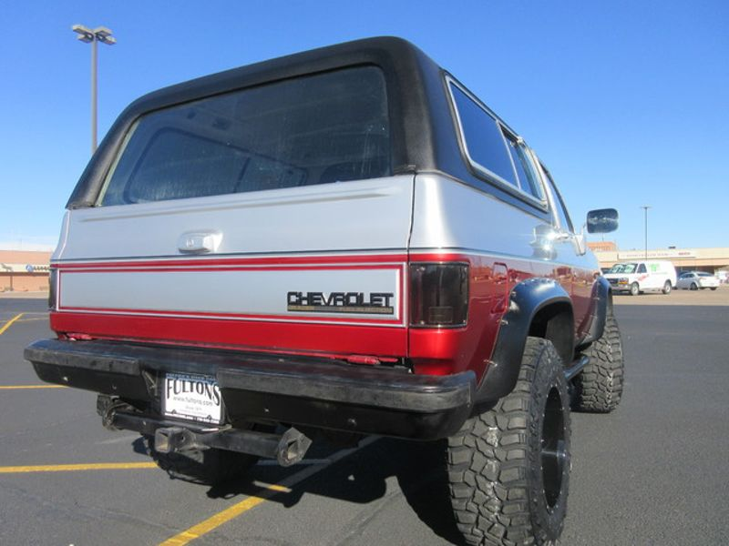 1989 Chevrolet Blazer 4WD  Fultons Used Cars Inc  in , Colorado