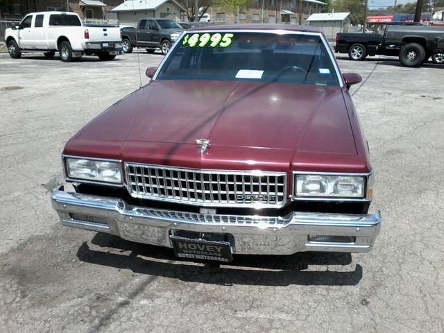 1989 Chevrolet Caprice San Antonio, Texas 2