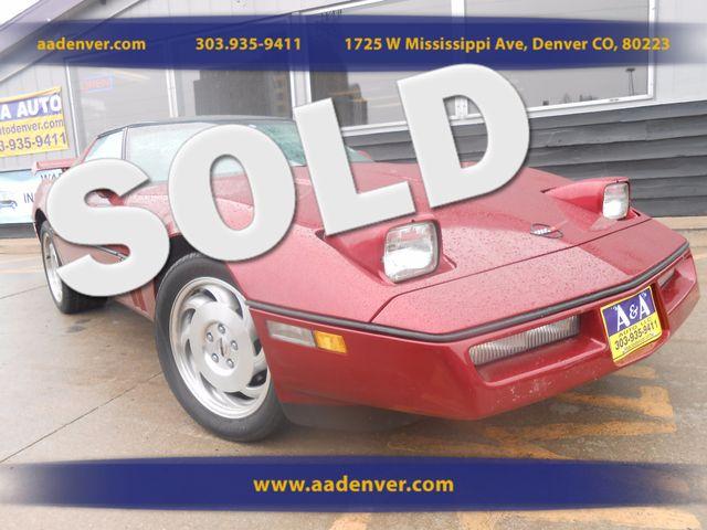 1989 Chevrolet Corvette  | Denver, CO | A&A Automotive of Denver in Denver CO