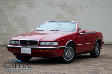 1989 Chrysler TC by Maserati Turbocharged Sports Car with Convertible Hard Top, Power Seats and A/C in Eau Claire