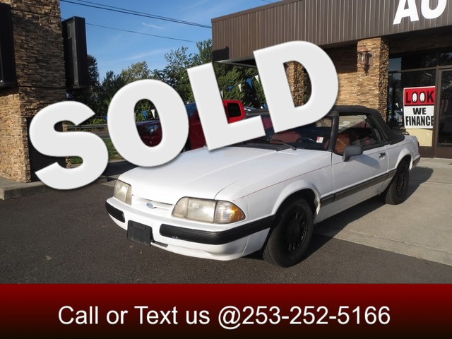 1989 Ford Mustang LX The CARFAX Buy Back Guarantee that comes with this vehicle means that you can