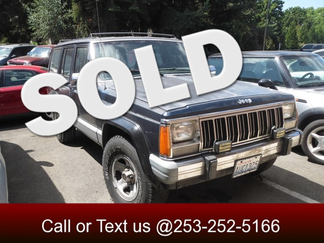 1989 Jeep Cherokee Laredo 4WD The CARFAX Buy Back Guarantee that comes with this vehicle means tha