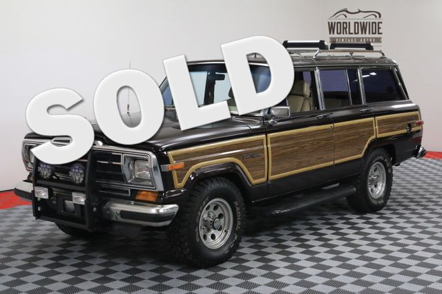 1989 Jeep GRAND WAGONEER ONE OWNER TIME CAPSULE | Denver, Colorado | Worldwide Vintage Autos