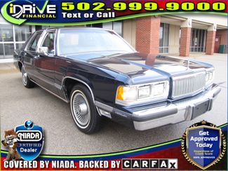 1989 Mercury Grand Marquis LS | Louisville, Kentucky | iDrive Financial in Lousiville Kentucky