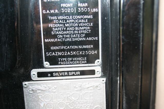 1989 Rolls-Royce Silver Spur Houston, Texas 32