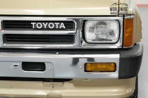 1989 Toyota 4RUNNER EFI. LOW MILES! 1 OWNER! AC! MANUAL! | Denver, CO | Worldwide Vintage Autos in Denver, CO