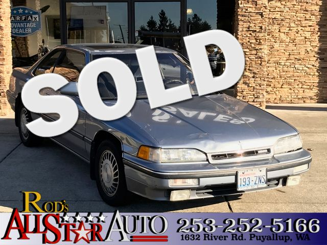 1990 Acura Legend L wCloth The CARFAX Buy Back Guarantee that comes with this vehicle means that