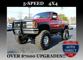 1990 Chevrolet 1500 Pickups LIFTED-5-SPD-4X4-350SBC! Mooresville , NC