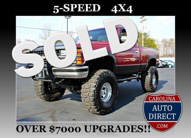 1990 Chevrolet 1500 Pickups LIFTED-5-SPD-4X4-350SBC! Mooresville , NC 0
