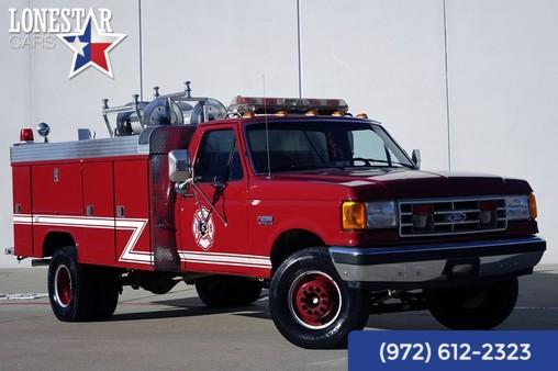 1990 Ford Fire Brush Truck 7.3l Diesel