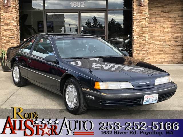 1990 Ford Thunderbird LX The CARFAX Buy Back Guarantee that comes with this vehicle means that you