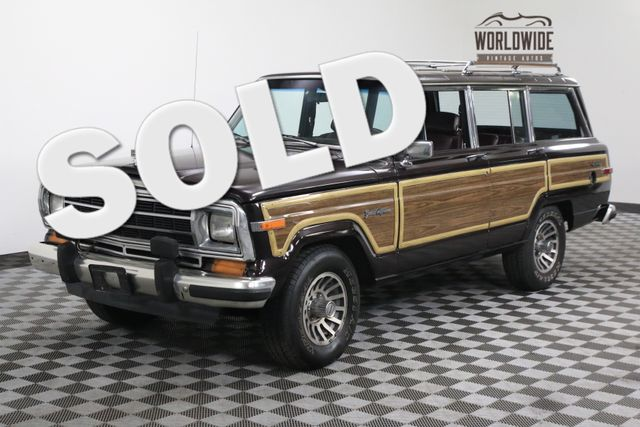 1990 Jeep GRAND WAGONEER LOADED 4X4 MUST SEE | Denver, CO | WORLDWIDE VINTAGE AUTOS