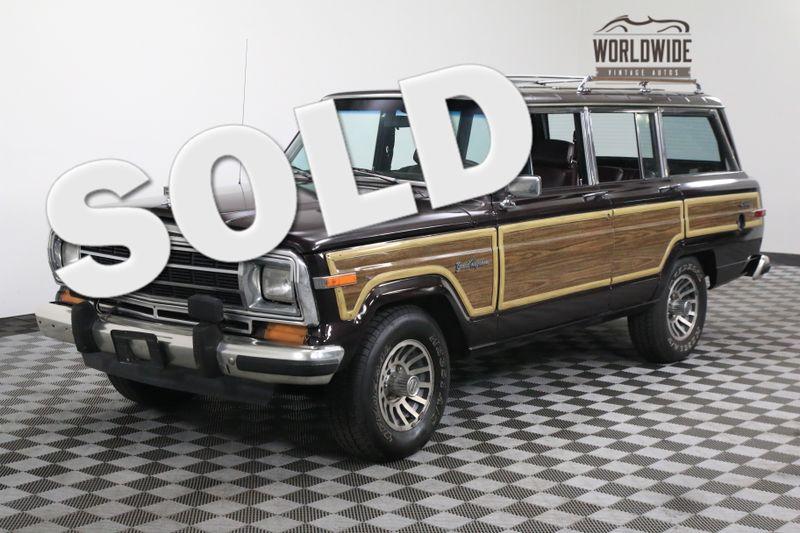 Jeep Grand Wagoneer >> 1990 Jeep Grand Wagoneer Loaded 4x4 Must See Denver Co