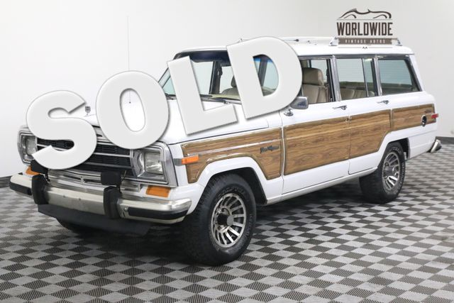 1990 Jeep GRAND WAGONEER RARE BRIGHT WHITE 4X4 LUGGAGE RACK | Denver, Colorado | Worldwide Vintage Autos