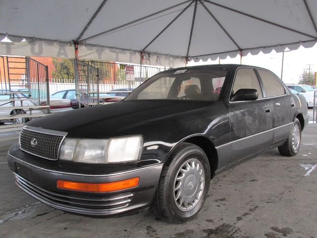 1990 Lexus LS 400 This Particular vehicles True Mileage is unknown TMU This particular vehicle h