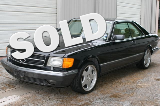 1990 Mercedes-Benz 560 Series 560SEC Houston, Texas 0