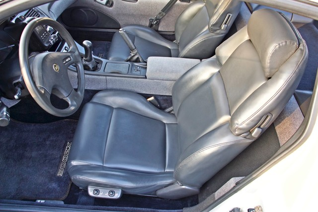 1990 Nissan 300ZX COUPE ONLY 82K ORIGINAL MLS MANUAL LEATHER SERVICE RECORDS Woodland Hills, CA 22