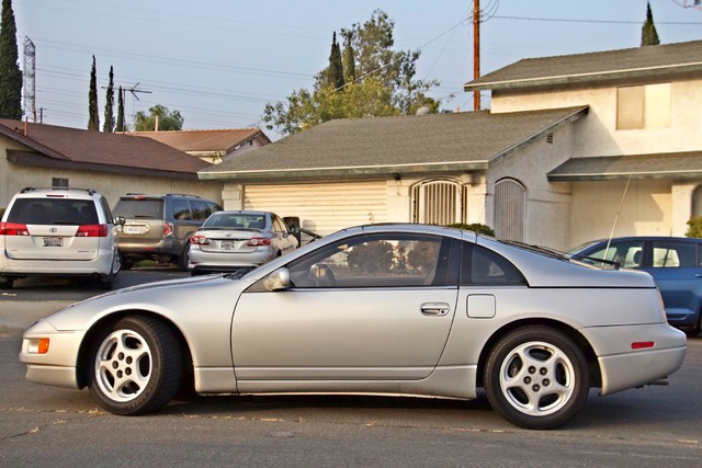 1990 Nissan 300ZX COUPE ONLY 82K ORIGINAL MLS MANUAL LEATHER SERVICE RECORDS Woodland Hills, CA 4