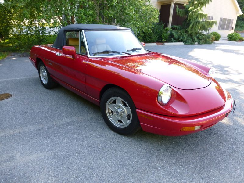 1991 Alfa Romeo Spider   city MA  European Motorsports  in Lawrence, MA