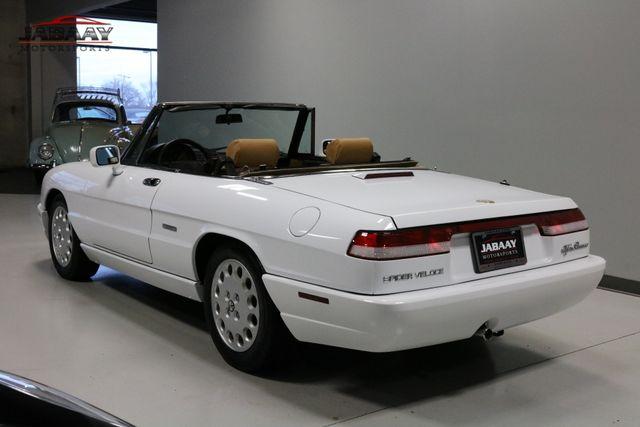 1991 Alfa Romeo Spider Veloce Merrillville, Indiana 2