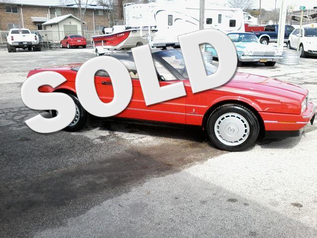 1991 Cadillac Allante' Roadster San Antonio, Texas 0