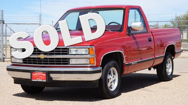 1991 Chevrolet 1500 Pickups Silverado | Lubbock, Texas | Classic Motor Cars