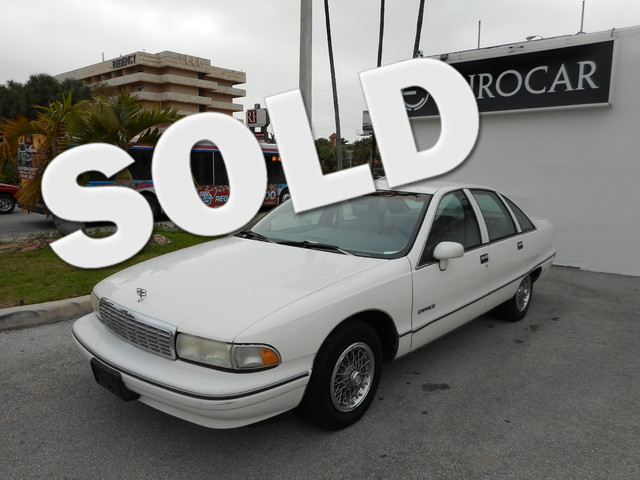 1991 Chevrolet Caprice STOP BY EUROCAR TODAY AND TAKE HOME THIS CHEVROLET CAPRICE EVERYONE IS APPRO