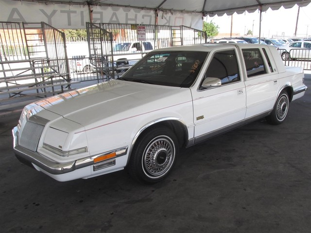 1991 Chrysler Imperial This particular Vehicles true mileage is unknown TMU Please call or e-m