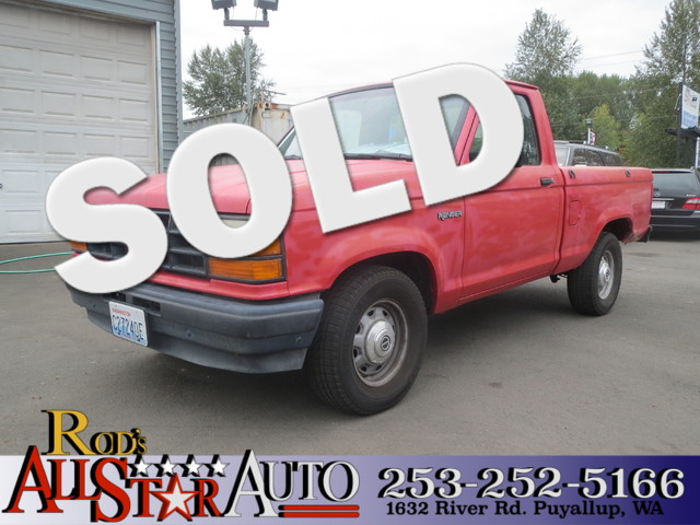 1991 Ford Ranger The CARFAX Buy Back Guarantee that comes with this vehicle means that you can buy