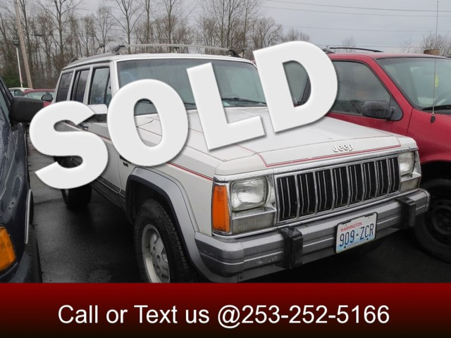 1991 Jeep Cherokee Laredo 4WD The CARFAX Buy Back Guarantee that comes with this vehicle means that