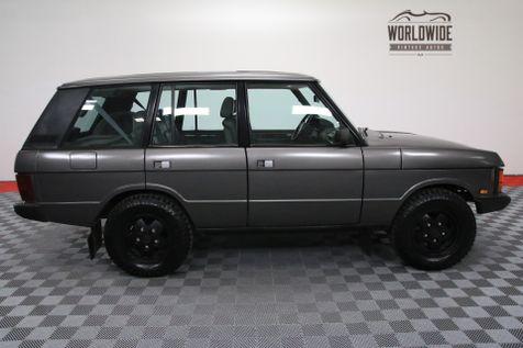 1991 Land Rover RANGE ROVER SWB CLASSIC RESTORED 67K!   Denver, Colorado   Worldwide Vintage Autos in Denver, Colorado