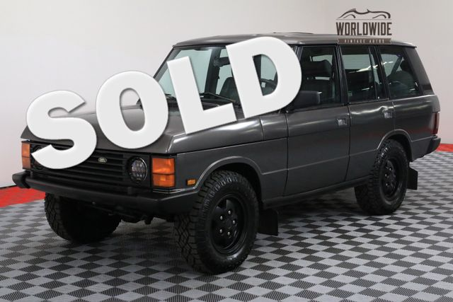 1991 Land Rover RANGE ROVER SWB CLASSIC RESTORED 67K!   Denver, Colorado   Worldwide Vintage Autos
