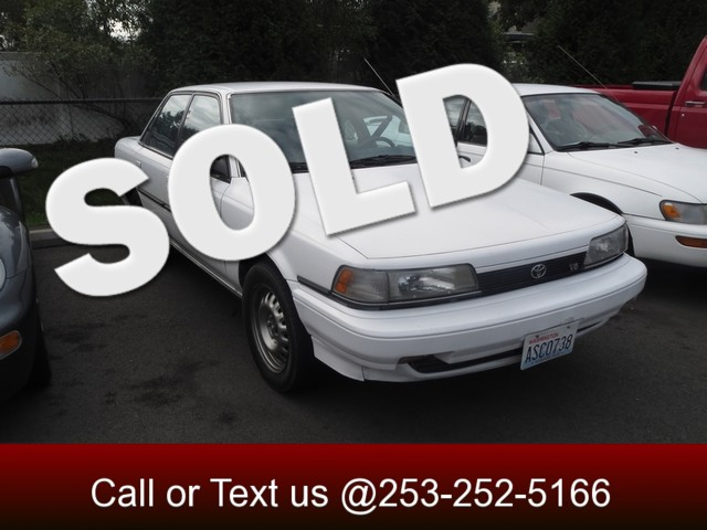 1991 Toyota Camry DX The CARFAX Buy Back Guarantee that comes with this vehicle means that you can