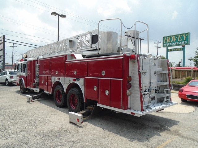 1992 E-One /Hush Qunit 110FT LADDER /PUMPER 4DR HURRICANE San Antonio, Texas 4