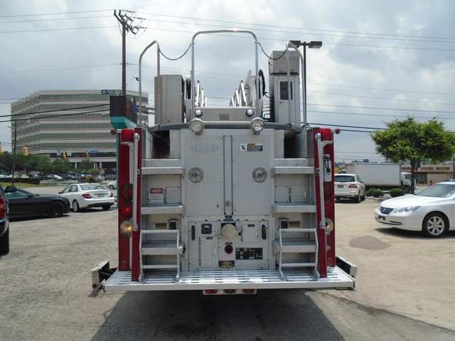 1992 E-One /Hush Qunit 110FT LADDER /PUMPER 4DR HURRICANE San Antonio, Texas 5
