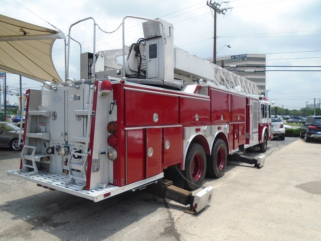 1992 E-One /Hush Qunit 110FT LADDER /PUMPER 4DR HURRICANE San Antonio, Texas 6