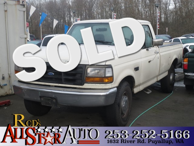 1992 Ford F-250 Custom The CARFAX Buy Back Guarantee that comes with this vehicle means that you c