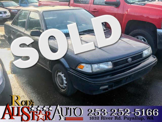 1992 Toyota Corolla The CARFAX Buy Back Guarantee that comes with this vehicle means that you can