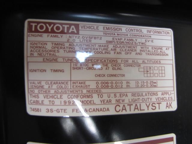 1992 Toyota MR2 TURBO Jacksonville , FL 39