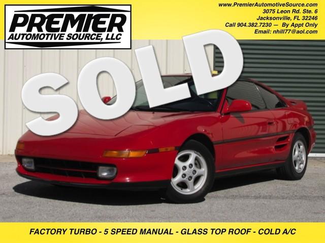 1992 Toyota MR2 TURBO Jacksonville , FL 0