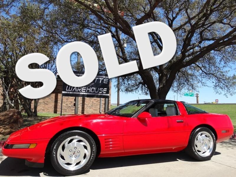 1993 Chevrolet Corvette Coupe 6 Speed, Power Seats, Glass Top, Alloys 63k!