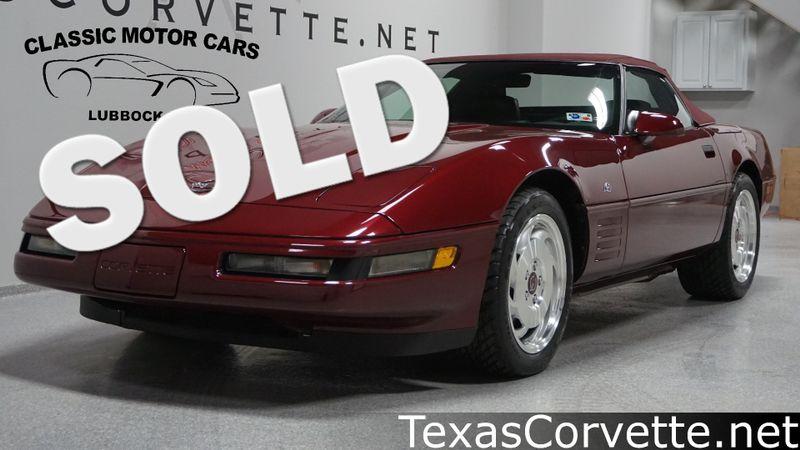 1993 Chevrolet Corvette 40th Anniversary | Lubbock, Texas | Classic Motor Cars