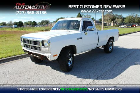 1993 Dodge D250 & W250 D200 in PINELLAS PARK, FL