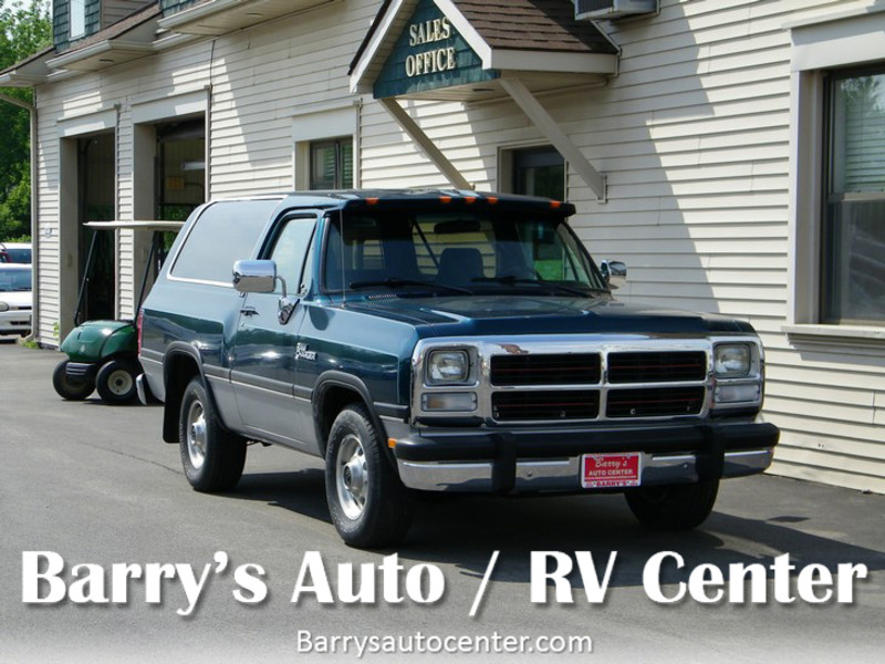 1993 Dodge Ram Charger AD150 LE  city NY  Barrys Auto Center  in Brockport, NY