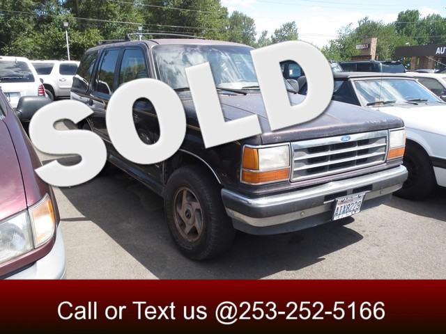 1993 Ford Explorer XLT 4WD The CARFAX Buy Back Guarantee that comes with this vehicle means that y