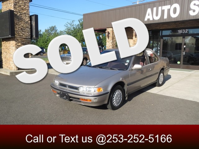 1993 Honda Accord LX The CARFAX Buy Back Guarantee that comes with this vehicle means that you can